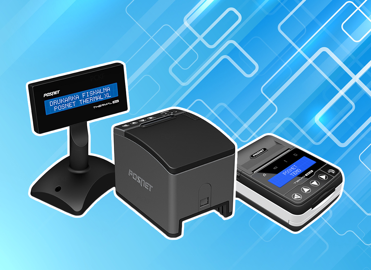 Drukarki fiskalne Posnet - Thermal XL2 Online i Temo Online